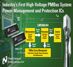 National Semiconductor - Industry's First High-voltage PMBus System Power Management and Protection ICs