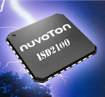 Nuvoton Introduces Industry's First True Single-Chip Digital Audio-Grade IC for Wide Range of Consumer, Industrial Applications