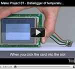 Let's Make Project 07 - Datalogger of temperature and humidity