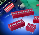 "Latest DIL Switch from knitter-switch is sealed for applications that require ""potted"" or conformally-coated PCBs"