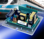Single Output Power Supply For Railway Applications From Martek Provides Up To 100W