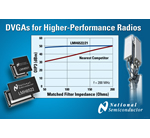 DVGAs from National Semiconductor Enable Higher-Performance Basestation Radio Architectures