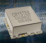 Crystek Maximizes Performance And Efficiency In New 6250 MHz Coaxial Resonator Oscillator (CRO)