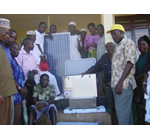 Premier Farnell, in partnership with NGO United Bank of Carbon, donates two solar-powered medicine fridges to the village of Tongwe in Tanzania