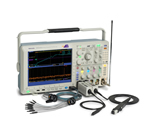 Tektronix delivers the functionality of an oscilloscope and a spectrum analyzer in a single instrument - the MDO4000