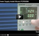 AC Power Supply model Kikusui PCR500M