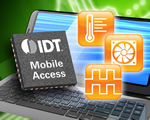 IDT Leverages Timing Leadership to Develop Industry's First Monolithic Solution for Timing, Thermal Sensor and Fan Control