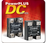 Crydom Announces the PowerPlusDC Series of Panel Mounted High Current DC Output Solid State Relays