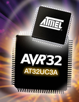 Atmel micro offers 80 MIPS performance at 40mA from new AVR32 UC core