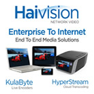 Haivision's KulaByte and HyperStream to Enable Live Streaming of Show Content at WFX 2011