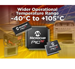 Microchip announces wider temperature-range