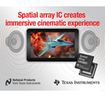 Texas Instruments spatial array IC simplifies audio soundstage design for multi-speaker portable products