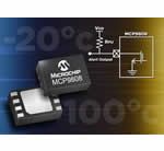 Microchip's new silicon temperature sensor guarantees high accuracy and resolution across a wide temperature range combined with small packages