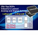 Intersil's 256-Tap DCPs Feature Industry's Lowest Supply Voltages and Power Consumption