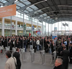 productronica 2011 - 34% up on last time with over 38500 visitors from 80 countries