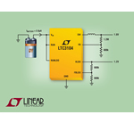15V, 300mA Synchronous Buck Converters with Only 1.8µA Quiescent Current