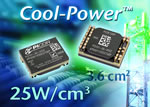 Thermal management for Cool-Power isolated DC-DC converters