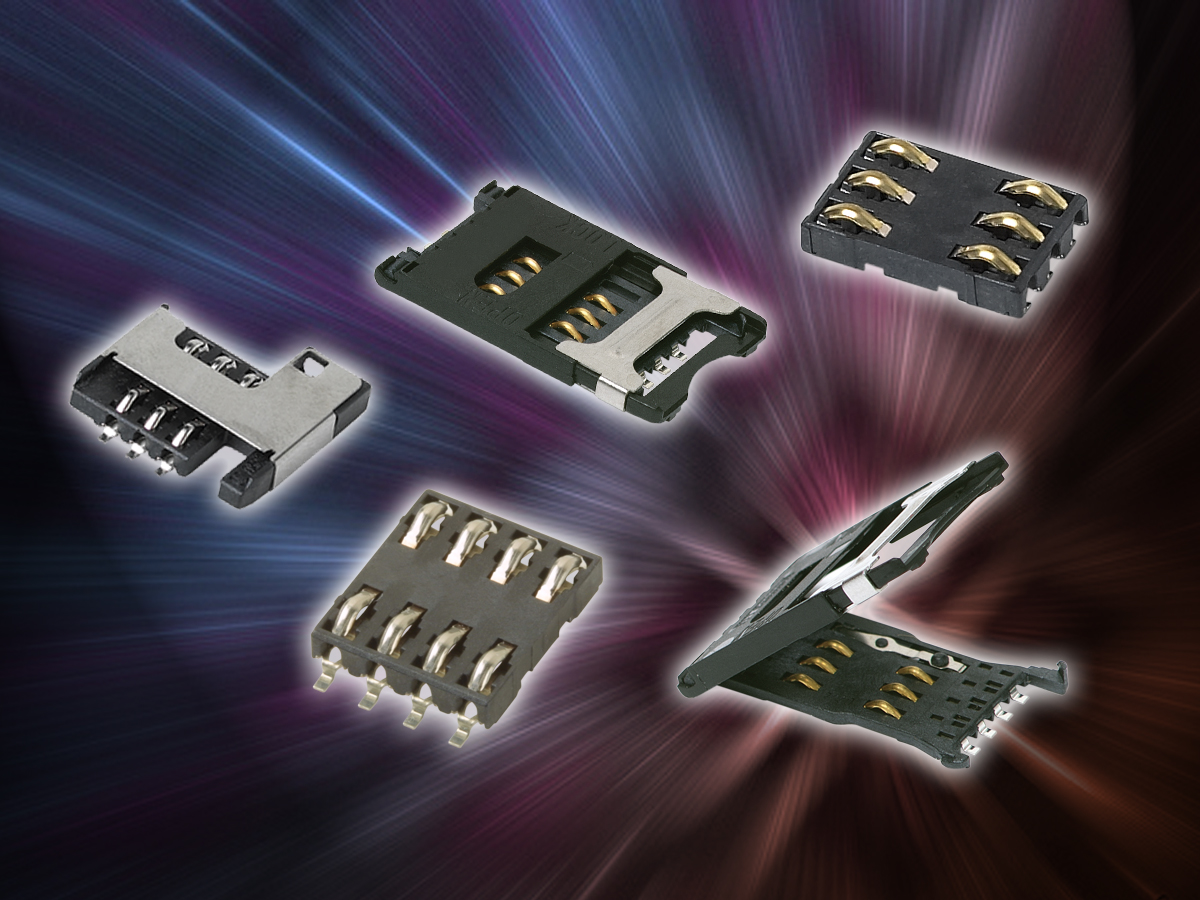 C&K Components Develops Harsh Environment Smart Card Connectors with Card Detection Switch for M2M Applications