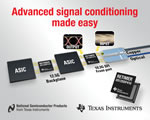 Texas Instruments advanced signal conditioners deliver industry's highest performance at lowest power