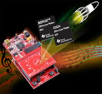 Add crystal clear audio to microcontroller-based applications with TI's new Audio Capacitive Touch BoosterPack for ultra-low-power MSP430 microcontrollers