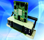 Test contactor system for embedded modules