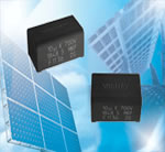 Vishay Intertechnology Introduces Slim Polypropylene Film Capacitor for DC-Link Applications