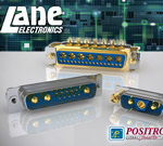 Lane Electronics - D-Subs From Positronic Have Mixed Contact Sizes To Suit Many Applications