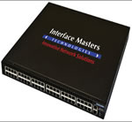 Interface Masters Announces 10GBASE-T and 1GBASE-T Managed Hybrid Switch supporting 48 Ports