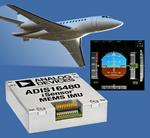 10-DoF MEMS IMU Incorporates Sensor Fusion Algorithm for Exceptionally Precise Orientation Sensing in Industrial, Defence and Avionics Applications