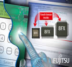Fujitsu Expands 8-bit Microcontrollers with Built-in Capacitive Touch Sensor and Controller Functions