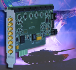 Pentek Board Synchronizes up to 256 Channels for Military, Medical Imaging and Beamforming Applications