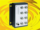 Compact Ethernet switch offers mechanical robustness in rail applications