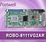 ROBO-8111VG2AR PICMG 1.3 SHB Form Factor from Portwell