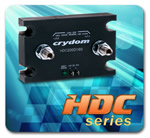 HDC Series of High Current DC Output Contactors announced by Crydom