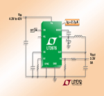 New 2MHz Step-Down DC/DC Converters from Linear Need Only 2.7µA of Quiescent Current