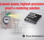 TI's ADS131E08 offers Low-Power, High-Precision Smart E-Metering Solution