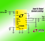 20V, 2.5A (IOUT) Synchronous Buck Regulator From Linear