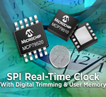 Microchip's new SPI RTCC series in 10-pin package