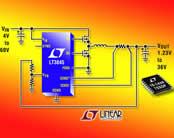 60V Input DC/DC Synchronous Step-Down Controller with Adjustable Frequency Optimizes Size and Efficiency