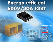 600V/30A IGBT Improves Energy Efficiency in Low-Frequency Industrial Applications