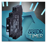 Crydom Introduce Compact 6 amp High Power SeriesOne DR Timer Series