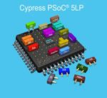 Cypress Launch New Low Power PSoC 5