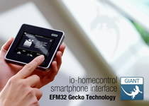 Energy Micro's Low Power MCU Delivers Long Battery Life To VELUX Touch Screen Remote Control