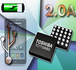 Toshiba Announce First 2.0A USB-Ready Li-ion battery Charger IC