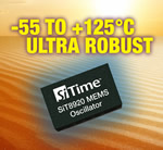 SiTime Expands Portfolio with +125C MEMS Oscillators