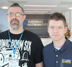 National Instruments Recognises UK Engineers, Chris Roebuck and Steve Watts, as LabVIEW Champions