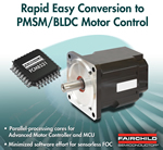 Simple Conversion Of AC Motor Control Designs With Fairchild's BLDC/PMSM Motor Controller