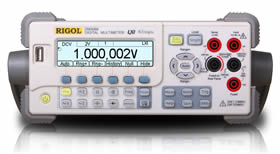 RIGOL DM3068 Bench Multi Meter With Digital Data Logging And Chart Display