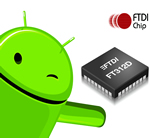 Dedicated USB-to-UART Bridge Chip Optimized for Android-Based Systems
