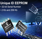 Microchip Introduces New Unique ID EEPROM Series